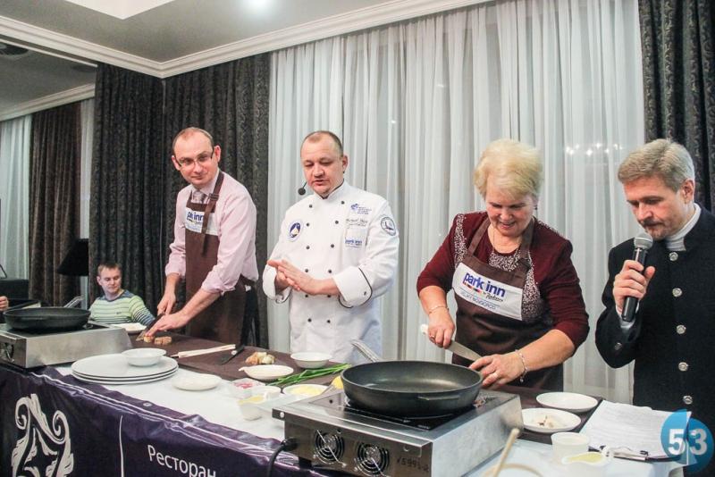 Мастер-класс по приготовлению новгородского салата из судака