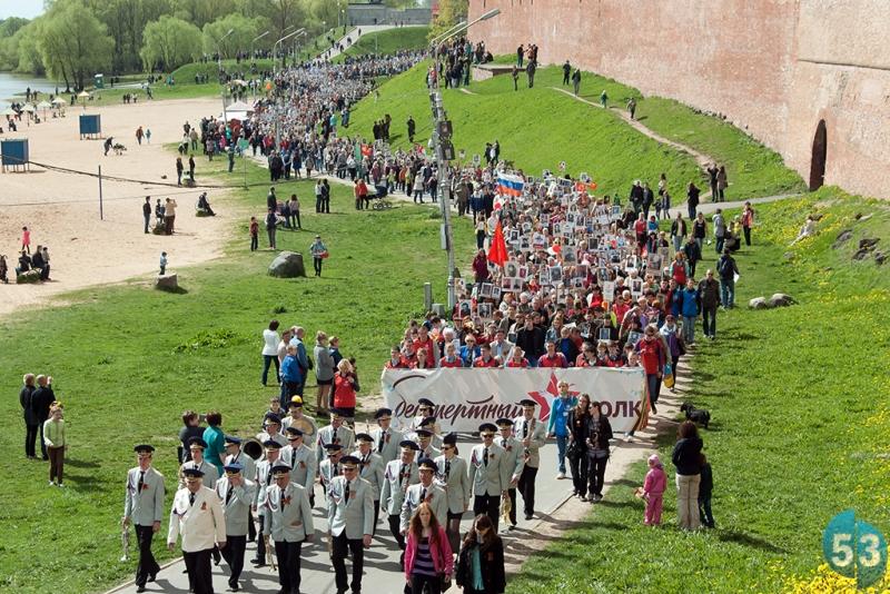 Шествие «Бессмертный полк» оказалось самым масштабным и запоминающимся событием 9 мая