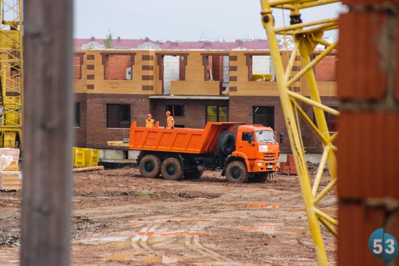До конца 2014 года должно быть построено около 30 тысяч кв. метров жилья.
