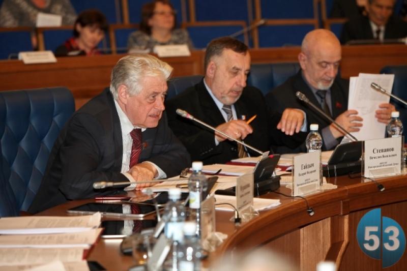 Депутат облдумы Валерий Гайдым