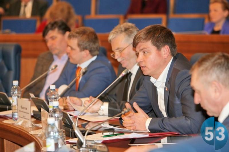 Депутат облдумы Павел Гальченко