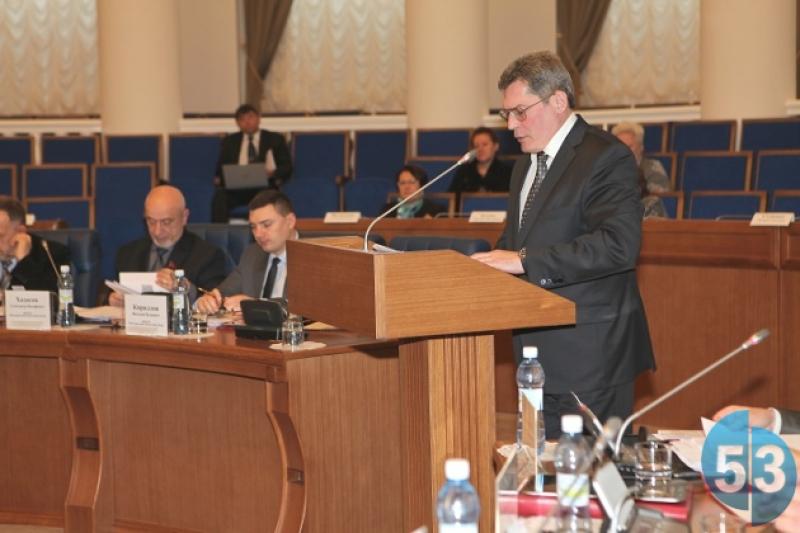 Заместитель губернатора области Юрий Маланин